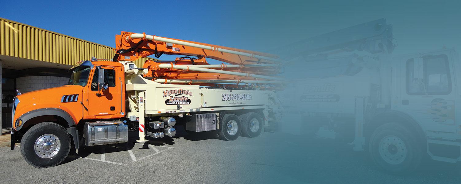 Concrete Boom Pump Truck Souderton PA