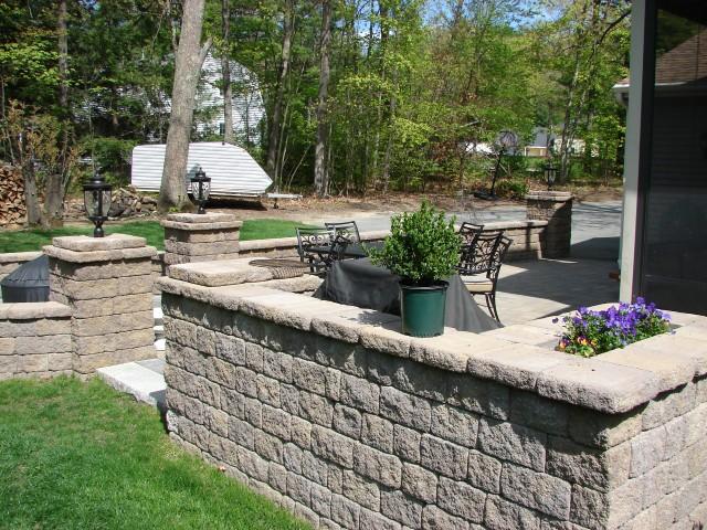 Stone Masonry Retaining Wall Souderton PA