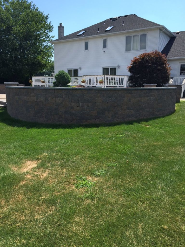 Natural Stone Retaining Wall Cost Souderton PA