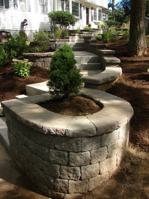 Rock Wall Landscaping Souderton PA
