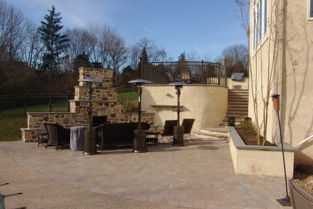 Backyard Retaining Wall Souderton PA