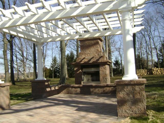 Stone Veneer Fireplace Souderton PA