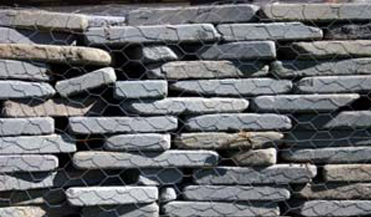 Tumbled Blue Stone Wall Souderton PA